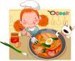 可爱胖女孩0009,可爱胖女孩,人物,火锅 自助 用餐