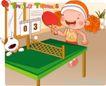 可爱胖女孩0019,可爱胖女孩,人物,乒乓球 比分 比赛