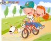可爱胖女孩0029,可爱胖女孩,人物,单车 游玩 帽子