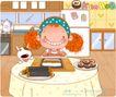 可爱胖女孩0052,可爱胖女孩,人物,柔肠 冰箱 饭团