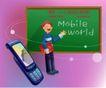 商务工作0002,商务工作,人物,手机 世界 漫游