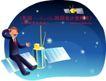 商务工作0010,商务工作,人物,卫星 电话 通迅