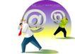 商务插画0138,商务插画,人物,电子 商务 邮件
