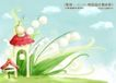 四季风景及儿童0021,四季风景及儿童,人物,生长 沉甸甸 鲜花