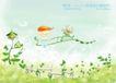 四季风景及儿童0025,四季风景及儿童,人物,春色 春景 春季