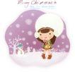 圣诞女孩0021,圣诞女孩,人物,圣诞夜 圣诞老人 节日