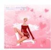 圣诞精品女孩0002,圣诞精品女孩,人物,天使 跪立 翅膀