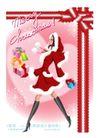 圣诞精品女孩0004,圣诞精品女孩,人物,悠雅 走路 姿态