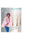 圣诞精品女孩0010,圣诞精品女孩,人物,粉红 棉絮 披风