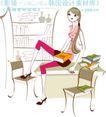 城市时尚生活0028,城市时尚生活,人物,高跟鞋 红唇 长筒袜