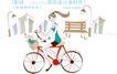城市时尚生活0041,城市时尚生活,人物,骑车 时尚 女郎