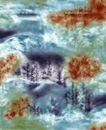 墨色精品花纹0011,墨色精品花纹,人物,朦胧画 模糊树影
