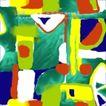 墨色精品花纹0017,墨色精品花纹,人物,色块组合