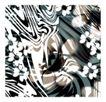 墨色精品花纹0022,墨色精品花纹,人物,花朵 花纹 黑白