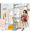 女性服饰购物0026,女性服饰购物,人物,迷你 彩色 鲜艳