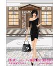 女性服饰购物0028,女性服饰购物,人物,礼服 手提包 高贵