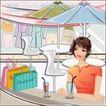 女性服饰购物0050,女性服饰购物,人物,白领 生活 悠闲