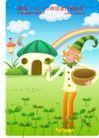 小丑与风景0010,小丑与风景,人物,怀抱 木桶 采集