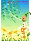 小丑与风景0011,小丑与风景,人物,小丑 树藤 韩文