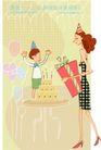 居家女人0006,居家女人,人物,礼品 儿童节 幸福