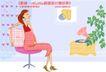 居家女人0010,居家女人,人物,孕妇 挺坐 肚子
