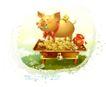 幻想魔法世界0003,幻想魔法世界,人物,金猪 储畜 资金