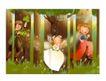 幻想魔法世界0031,幻想魔法世界,人物,三个小伙伴 树林里 嬉戏