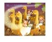 幻想魔法世界0040,幻想魔法世界,人物,一群鸭子 三个小朋友 玩耍