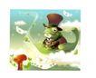幻想魔法世界0046,幻想魔法世界,人物,青蛙 王子 礼帽
