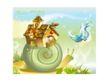 幻想魔法世界0047,幻想魔法世界,人物,蜗牛 背壳 房子