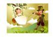 幻想魔法世界0048,幻想魔法世界,人物,猫先生 陪同 女孩