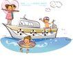 开心卡通0021,开心卡通,人物,快乐 漫游 畅游