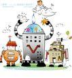 开心卡通0046,开心卡通,人物,机器人 智能 玩具