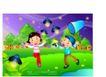 快乐儿童生活0019,快乐儿童生活,人物,萤火虫 捕捉 夜晚