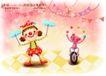 快乐小女孩0043,快乐小女孩,人物,杂耍 丑角 节目