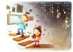 快乐小女孩0044,快乐小女孩,人物,嫩芽 攀爬 成长
