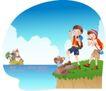 快乐署假生活0023,快乐署假生活,人物,度假 旅行 步行