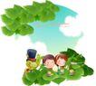 快乐署假生活0029,快乐署假生活,人物,夏季 动物 植物