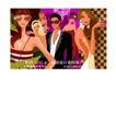 时尚俱乐部0038,时尚俱乐部,人物,俱乐部 柱子 年轻男女