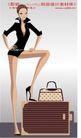 时尚城市女性0009,时尚城市女性,人物,修长 美腿 踩箱子