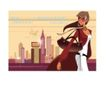 时尚城市女性0033,时尚城市女性,人物,挎包 长风衣女子 城市