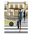 时尚简单生活0001,时尚简单生活,人物,行走 斑马线 过马路