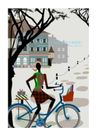 时尚简单生活0003,时尚简单生活,人物,自行车 购物 停车