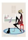 时尚简单生活0022,时尚简单生活,人物,钻石 卧室 宠物