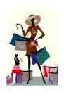 时尚简单生活0023,时尚简单生活,人物,购物 商品 消费