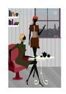 时尚简单生活0026,时尚简单生活,人物,交谈 朋友 家居