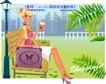 时尚购物女孩0043,时尚购物女孩,人物,休息 靠椅 口渴
