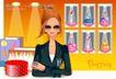 时尚购物女孩0083,时尚购物女孩,人物,眼镜 时尚女孩 清高