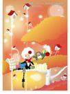 梦幻插画0014,梦幻插画,人物,树枝上的房子