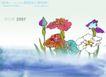水彩背景及其花纹0080,水彩背景及其花纹,人物,清新花样 莲花 彩莲